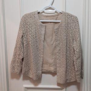 🛍️ Crochet open blazer